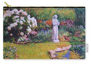 St. Francis In The Garden Carry-all Pouch