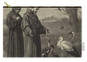 St Francis Preaches To The Birds  Carry-all Pouch
