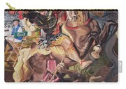 St George And The Dragon Carry-all Pouch