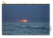 St. George Island Sunrise Carry-all Pouch