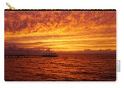 St. George Island Sunset Carry-all Pouch