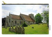 St George's Church At Arreton Carry-all Pouch by Rod Johnson