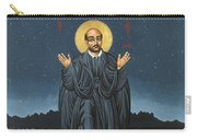 St. Ignatius In Prayer Beneath The Stars 137 Carry-all Pouch