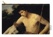 St John The Baptist In The Wilderness 1625 Carry-all Pouch