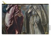 St. John The Evangelist And St. Francis Of Assisi Carry-all Pouch
