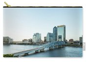 St Johns River Skyline, Jacksonville, Florida Carry-all Pouch