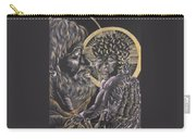 St. Joseph And The Child Jesus Carry-all Pouch