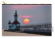 St. Joseph Lighthouse At Sunset Carry-all Pouch