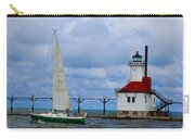 St. Joseph Lighthouse Sailboat Carry-all Pouch