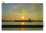 St Lawrence Sunset 3 Carry-all Pouch