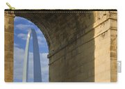 St Louis Arch And Eads Bridge   Carry-all Pouch