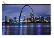 St Louis Black N Blue Carry-all Pouch