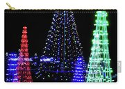 St Louis Botanical Gardens Christmas Lights Study 4 Carry-all Pouch