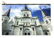 St. Louis Cathedral - Nola- Art Carry-all Pouch