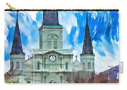 St. Louis Cathedral - Paint Carry-all Pouch