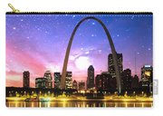St Louis Skyline As Night Falls Carry-all Pouch
