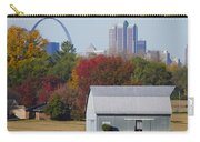 St Louis Skyline From Illinois Carry-all Pouch