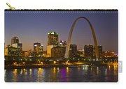 St Louis Skyline From Poplar Street Bridge Carry-all Pouch