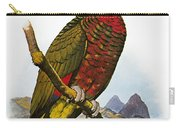 St Lucia Amazon Parrot Carry-all Pouch