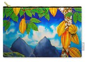 St. Lucia Cocoa Carry-all Pouch by Daniel Jean-Baptiste