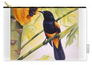 St. Lucia Oriole And Papaya Carry-all Pouch