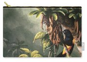 St. Lucia Oriole In Bromeliads Carry-all Pouch