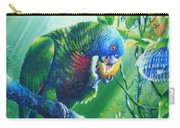 St. Lucia Parrot And Wild Passionfruit Carry-all Pouch