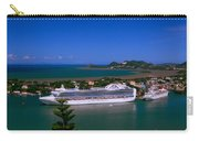St. Lucia Port Carry-all Pouch