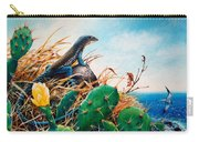 St. Lucia Whiptail Carry-all Pouch