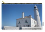 St. Mary's Island And The Lighthouse. Carry-all Pouch
