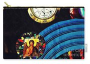 St Michael At The Gates Of Time Carry-all Pouch