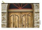 St Olafs Kirke Door Carry-all Pouch