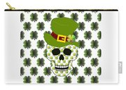 St Paddys Skull  Carry-all Pouch