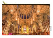 St Patrick's Cathedral Manhattan New York Carry-all Pouch