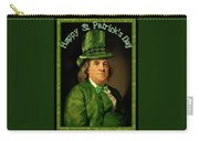 St Patrick's Day Ben Franklin Carry-all Pouch