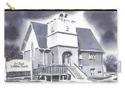 St Paul Lutheran With Ink Carry-all Pouch