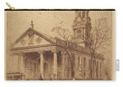 St. Paul's, Broadway, N.y. Carry-all Pouch
