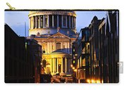 St. Paul's Cathedral From Millennium Bridge Carry-all Pouch
