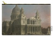 St. Paul's Cathedral Carry-all Pouch by Giovanni Antonio Canaletto