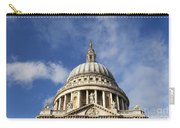 St Pauls Cathedral London England Uk Carry-all Pouch