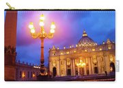 St. Peters Cathedral At Night Carry-all Pouch
