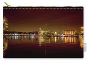 St Petersburg, Fl, Skyline At Night Carry-all Pouch