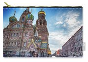 St-petersburg Straat Carry-all Pouch by Ariadna De Raadt