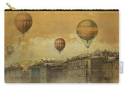 St Petersburg With Air Baloons Carry-all Pouch by Jeff Burgess