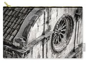 St. Saviour Church Window - Black And White Carry-all Pouch