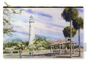 St. Simons Island Lighthouse Carry-all Pouch