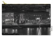 St Stephens Basilica Night Bw Carry-all Pouch