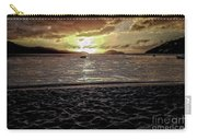 St Thomas - Dusk At Magans Bay Carry-all Pouch