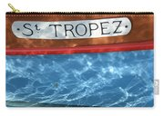 St. Tropez Carry-all Pouch by Lainie Wrightson