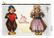 St. Valentines Day Card Carry-all Pouch